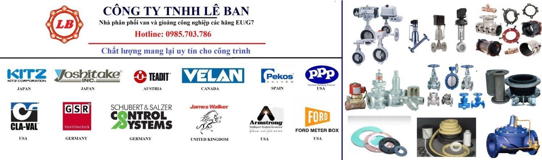 CÔNG TY LÊ BAN - Van & gioăng công nghiệp G7/EU